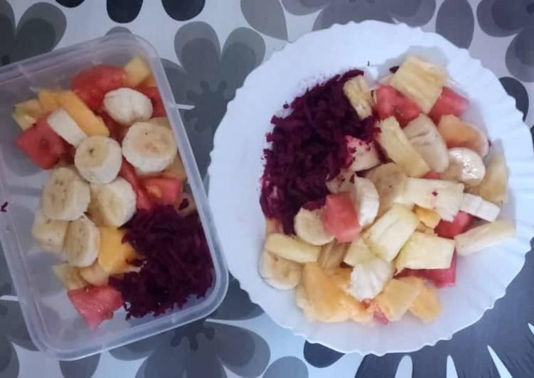 Grandmother's Dinner Ideas Love Fruit salad #festive contest@kakamega