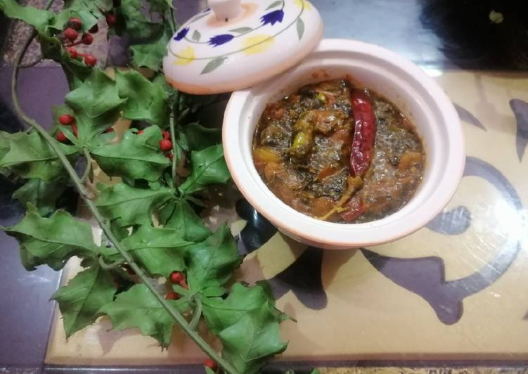 Simple Ambaade Ki Chutney