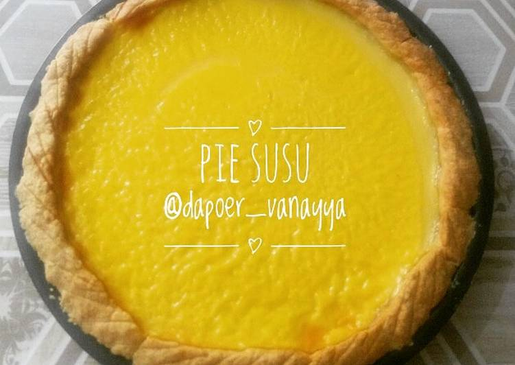 Resep Pie Susu (Kue Lontar) Vanayya Paling Joss