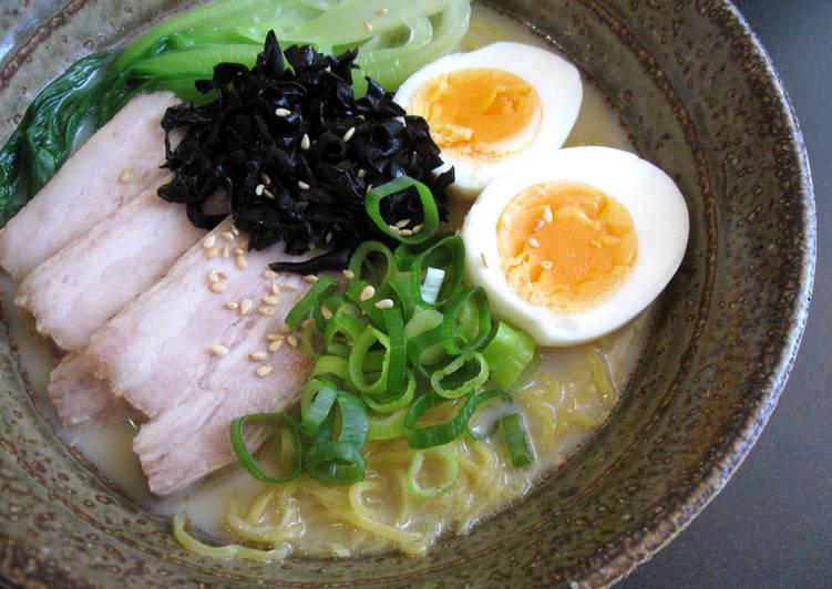 Recipe of Homemade Pork Ramen Soup