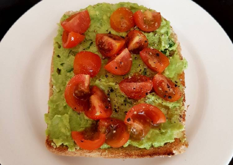 Simple Way to Cook My Italian Inspired Avocado Toast. 😘 Tasty