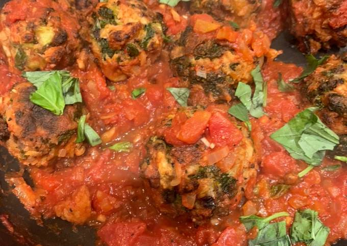 Mixed vegetable meatballs