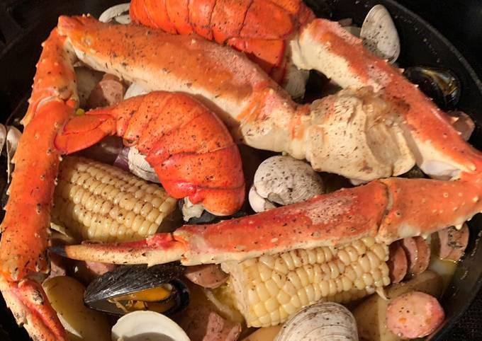 New England Seafood Bake 🦞