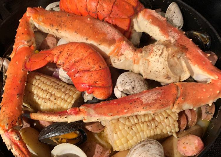 Easiest Way to Prepare Award-winning New England Seafood Bake 🦞