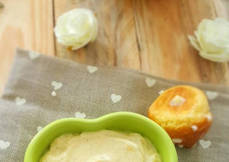 Crème patissiere a la vanille