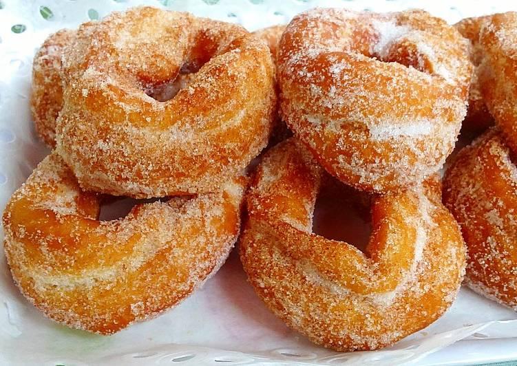 Rosquillas fritas Receta de jaramillo - Cookpad