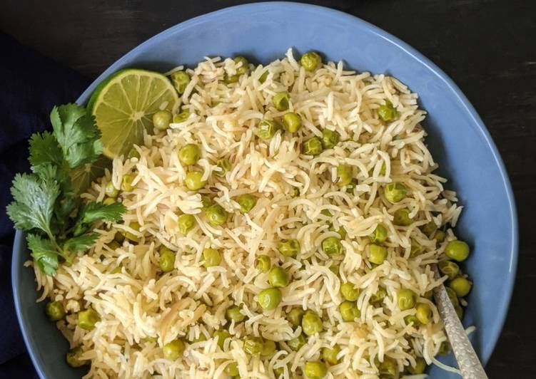 Recipe of Ultimate Green Peas Pulao Matar Pulao
