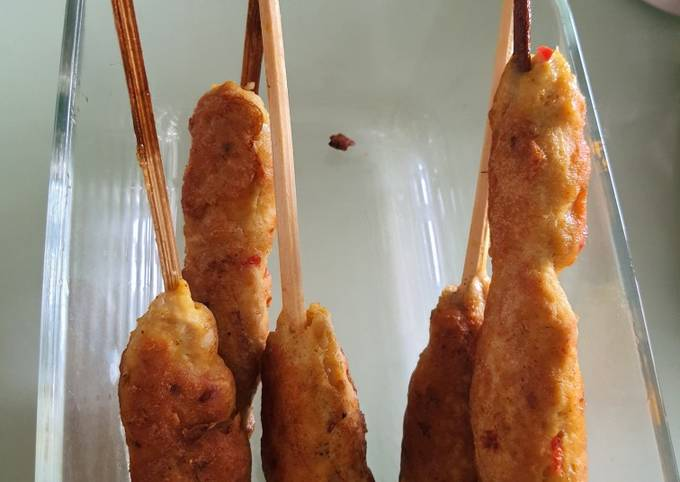 Resep Sate lilit ayam praktis cepat yang Bikin Ngiler