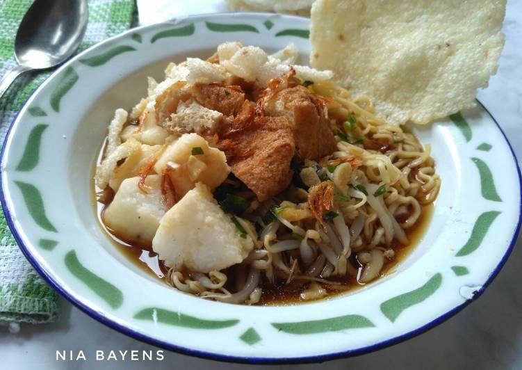 Resep Mie kopyok khas Semarang (#pr_anekamiekuah) Yang Mudah Bikin Nagih