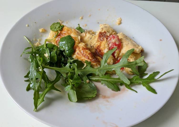 Easiest Way to Make Homemade Omelette à la française