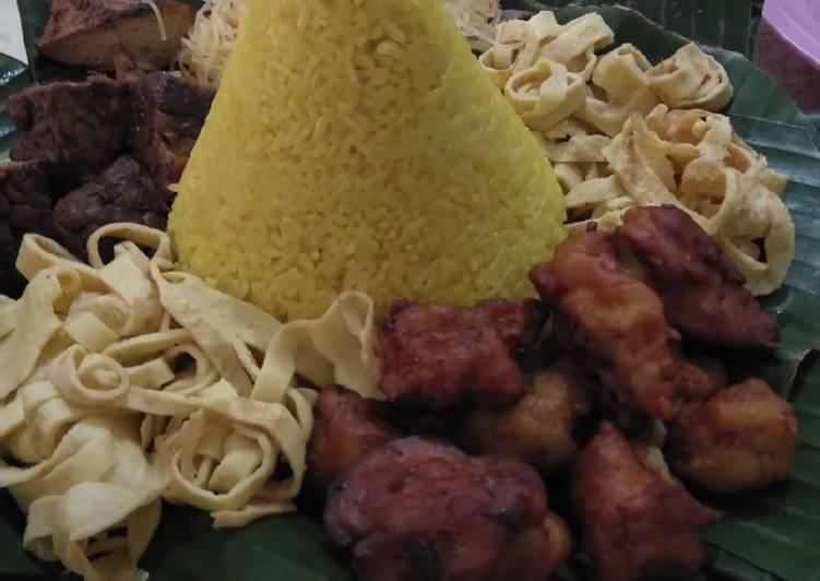 Tumpeng Irit😂 (resep ayamnya)