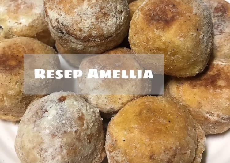 Chappsal doughnut a.k.a donat tepung ketan