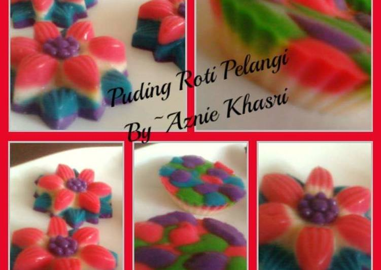 Puding Roti Pelangi - velavinkabakery.com