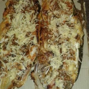 Dorado y sábalo a la pizza