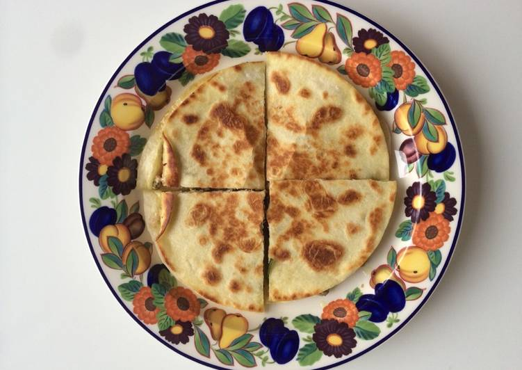 How to Make Homemade Olive Tapenade Quesadilla