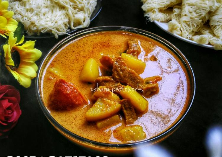 Beef and Potatoes Curry