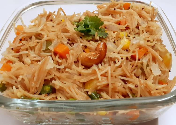 Vermicelli Upma.Southindian breakfast