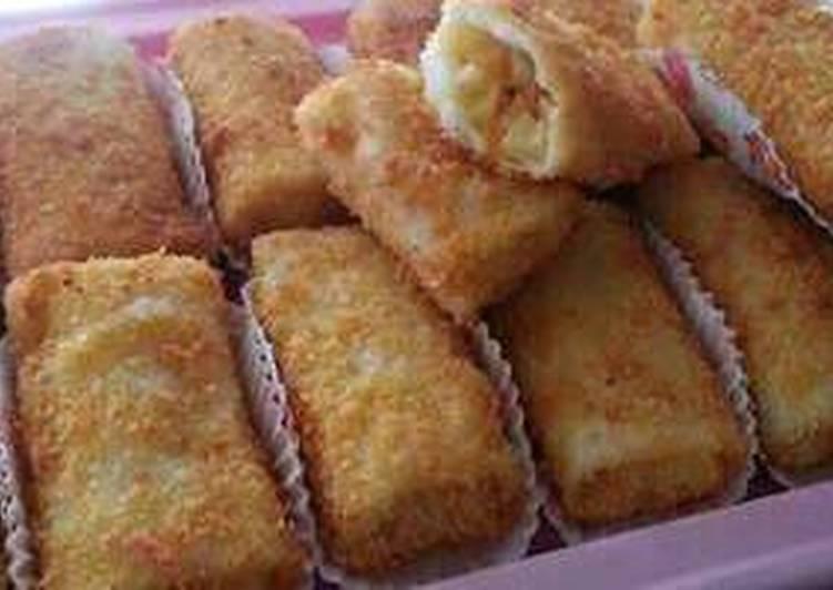 risoles isi ayam kentang wortel foto resep utama Resep Indonesia CaraBiasa.com