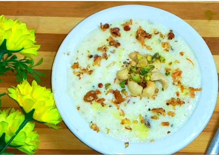 Recipe of Ultimate Rice kheer