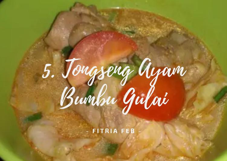5. Tongseng Ayam Bumbu Gulai