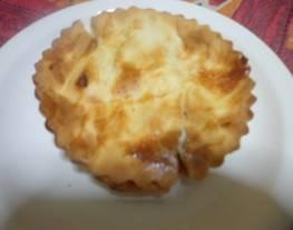 Tarta de calabaza y mozarella