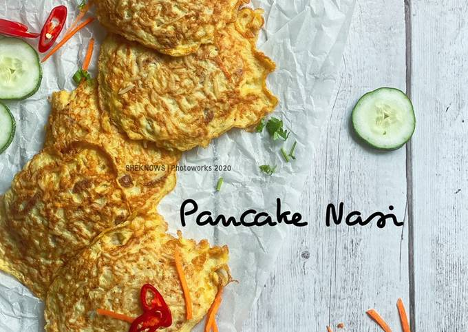 Pancake Nasi Leftover