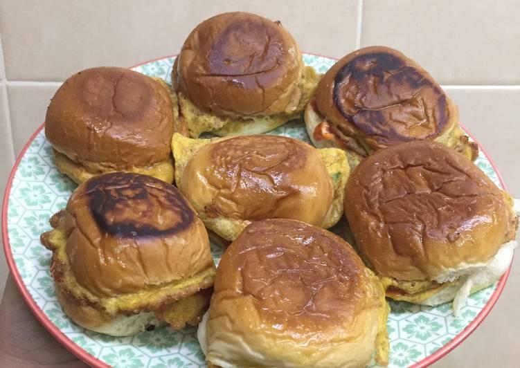 Cara Mudah Masak: Roti john mini #pinkboxcereal  Lazat