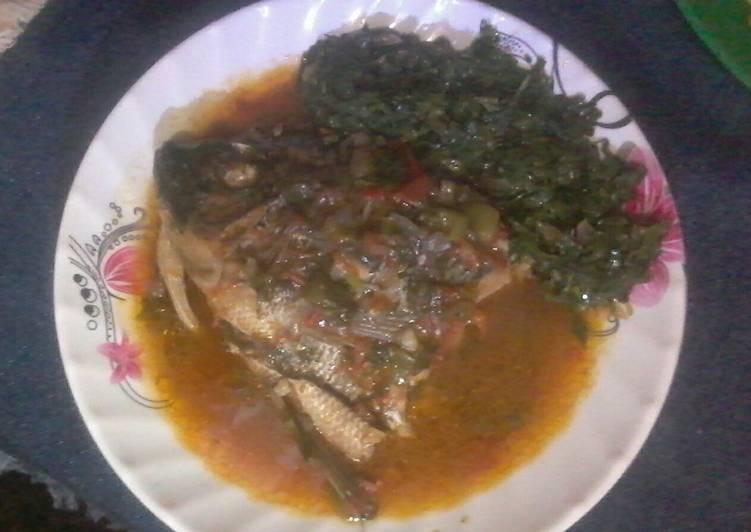 Recipe of Award-winning Boiled Tilapia fish