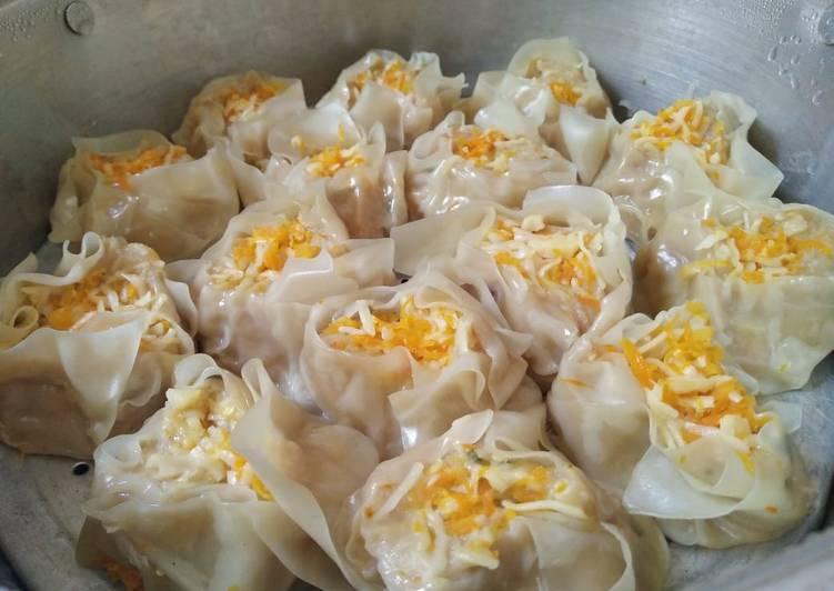 Resep Siomay Ayam Udang Juicy Dan Moist Oleh Maia Cookpad