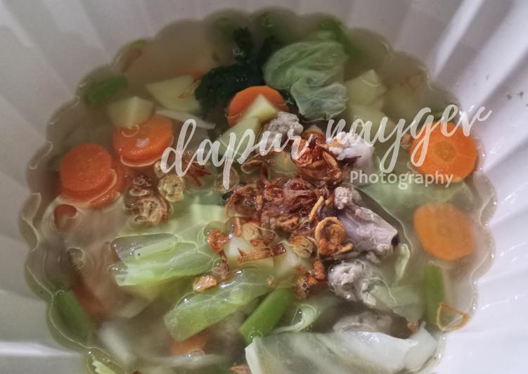 Sup ayam ndeso