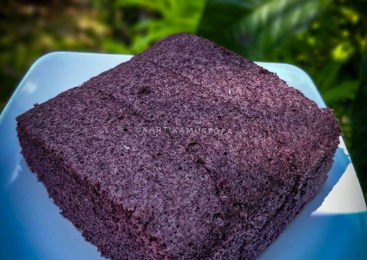 resep masak Bolu Ketan Hitam (kukus) - Takaran Sendok Anti Gagal - Simple - Sajian Dapur Bunda