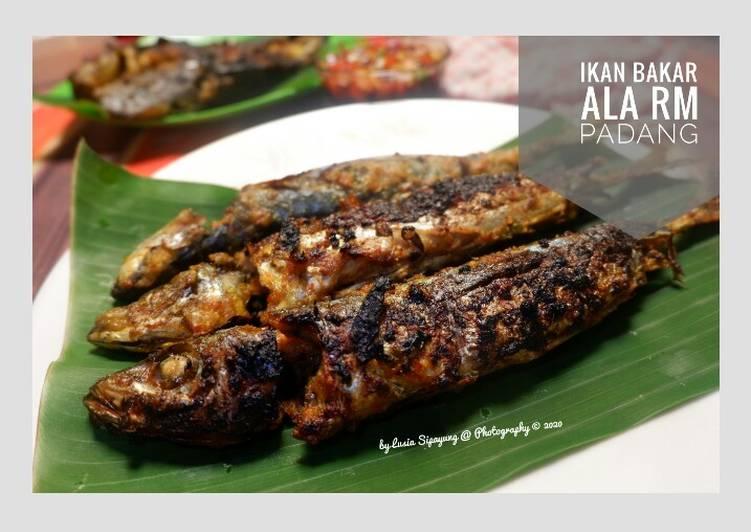 Ikan Bakar ala RM Padang