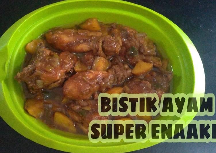 Langkah Mudah untuk Membuat Bistik Ayam Kentang Super Enak dan Nikmat, Lezat Sekali
