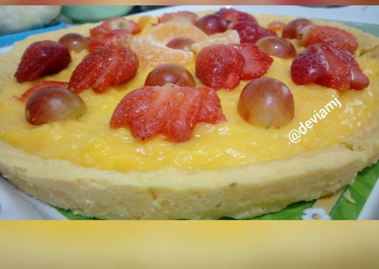 Resep Crunchy Fruit Pie Paling Top