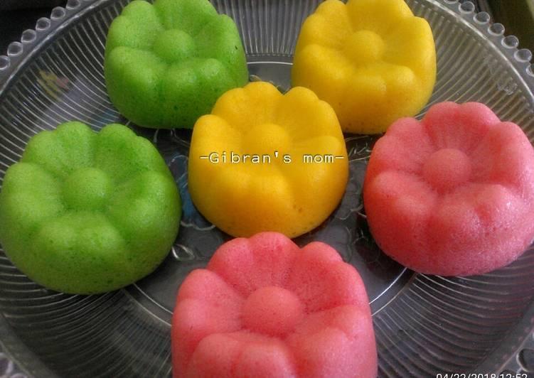 Apem kukus/kue mangkok tidak mekar - ganmen-kokoku.com