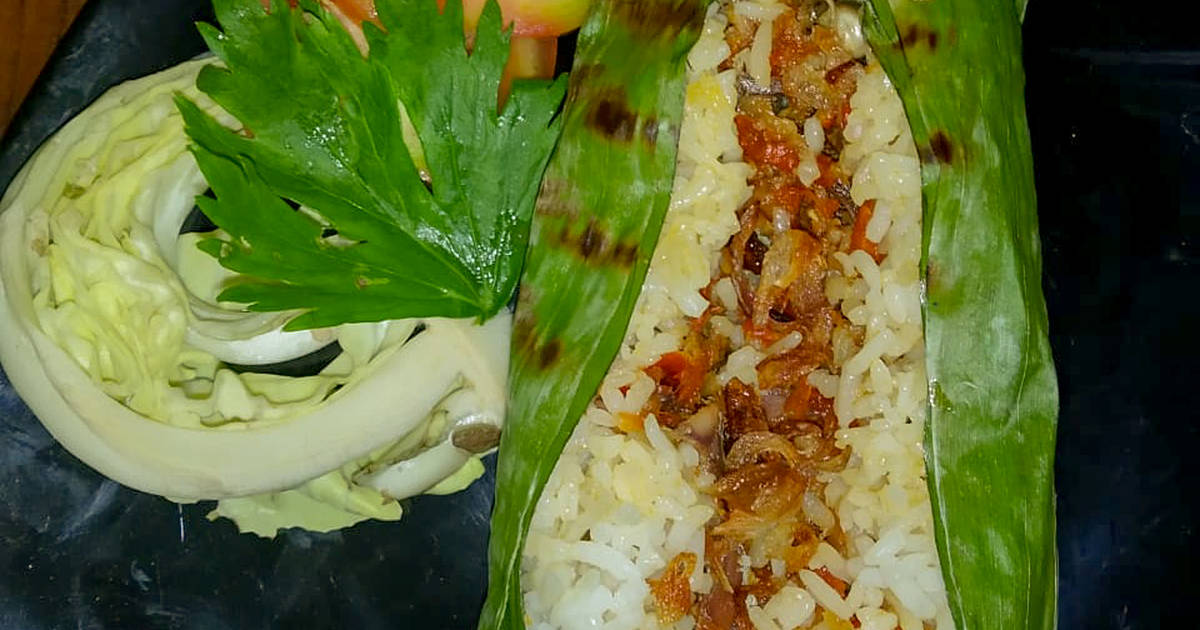 Resep Nasi Bakar Ikan Peda Oleh Dwii Nugraa Cookpad