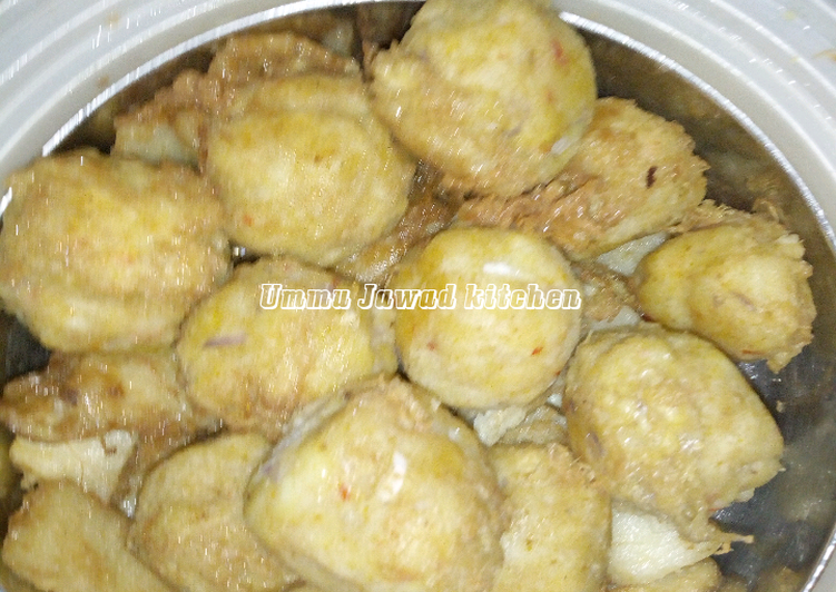 Old Fashioned Dinner Easy Fall Yam balls