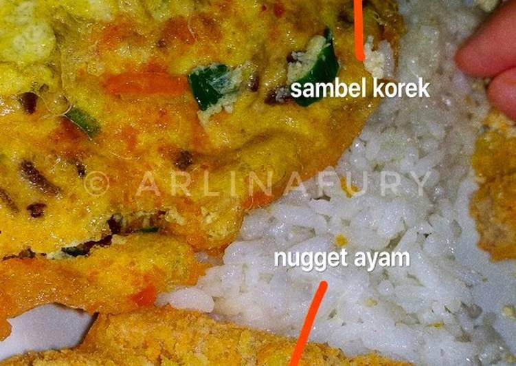 Telor gobalbul / fuyunghai simpel