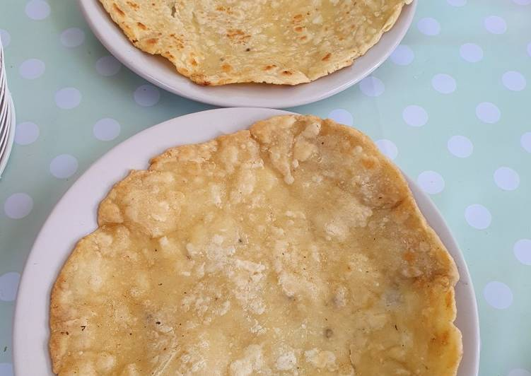Buttery Roti bread