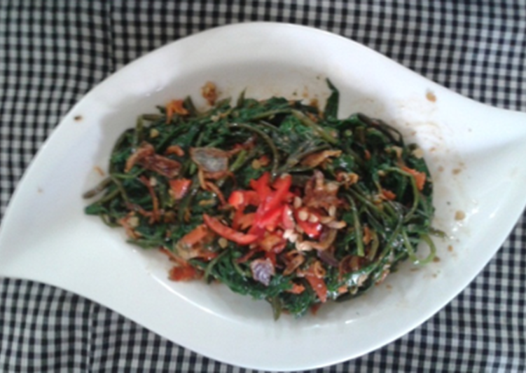 Salad Indonesia: Plecing Kangkung