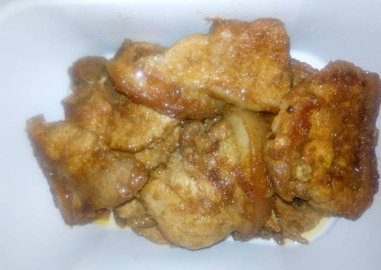 Easiest Way to Prepare Ultimate Pan fried pork chop