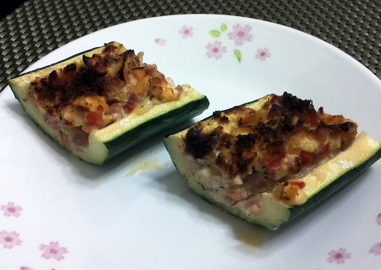 Recipe: Perfect Zucchini  Pizza