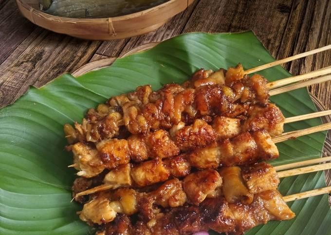 Cara Mudah Memasak Sate Ayam Manis, Enak Banget