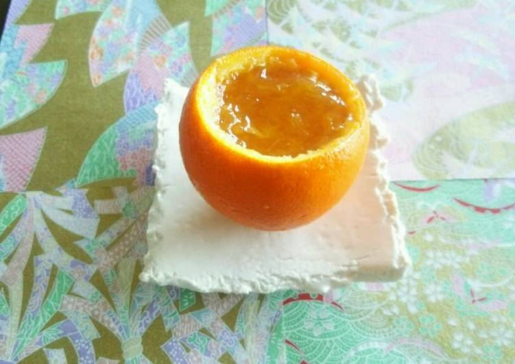 Steps to Prepare Ultimate Whole Orange Jello