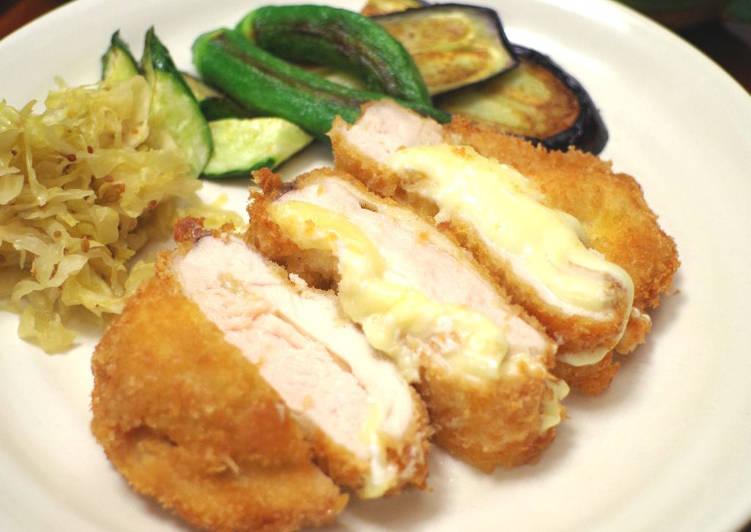 Cheese chicken katsu