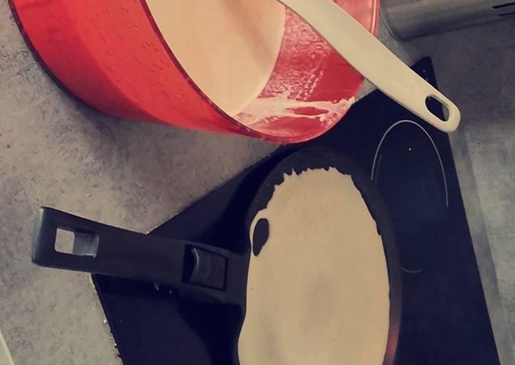 Recipes  Pâte à crêpes