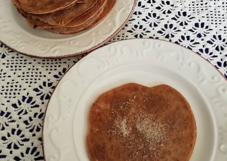 Recette Délicieuse Crêpes légères à la farine de châtaigne et au lait d'amandes