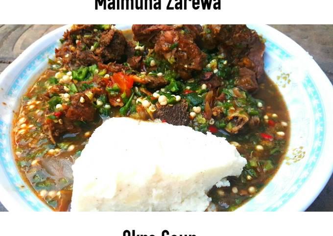 Simple Way to Make Homemade Raw Okra soup