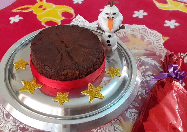 Step-by-Step Guide to Make Award-winning Plum cake Christmas cake eggless and whole wheat
