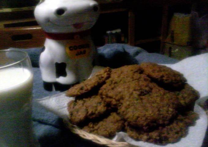 Recipe Really Good Oatmeal cranberry/raisin cookies